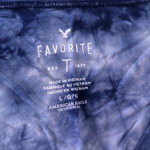Tie-Dye American Eagle T-Shirt 🦅